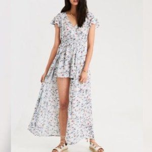 American Eagle Romper/Maxi Dress NWT